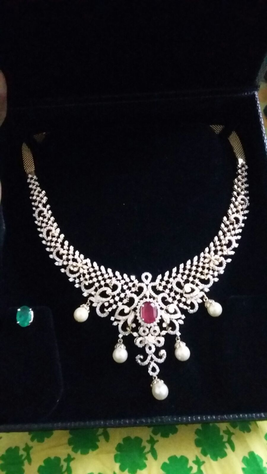 designer indian cardiff cz pendant inspirations lovely necklace of diamonds designs fashion jewellery vendee diamond