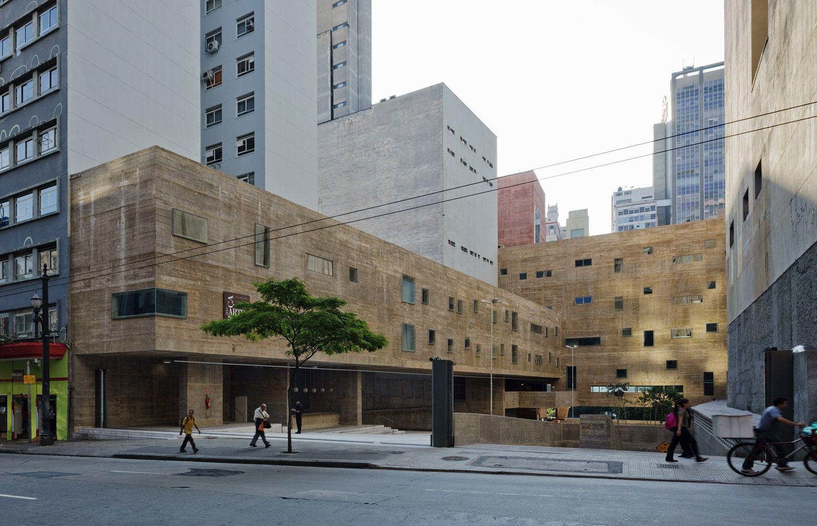 Praça das Artes / Brasil Arquitetura | ARQUITECTURA | Pinterest ...