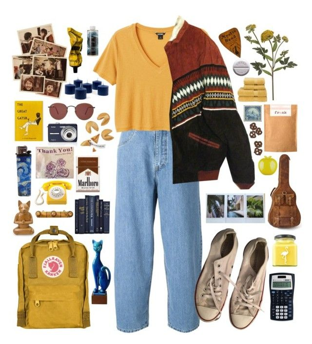 """""""Untitled #387"""" by bethanydarlison ❤ liked on Polyvore featuring Société Anonyme, Monki, Converse, NOVICA, Crate and Barrel, Fjällräven, Ray-Ban, Aesop, KEEP ME and Korres"""