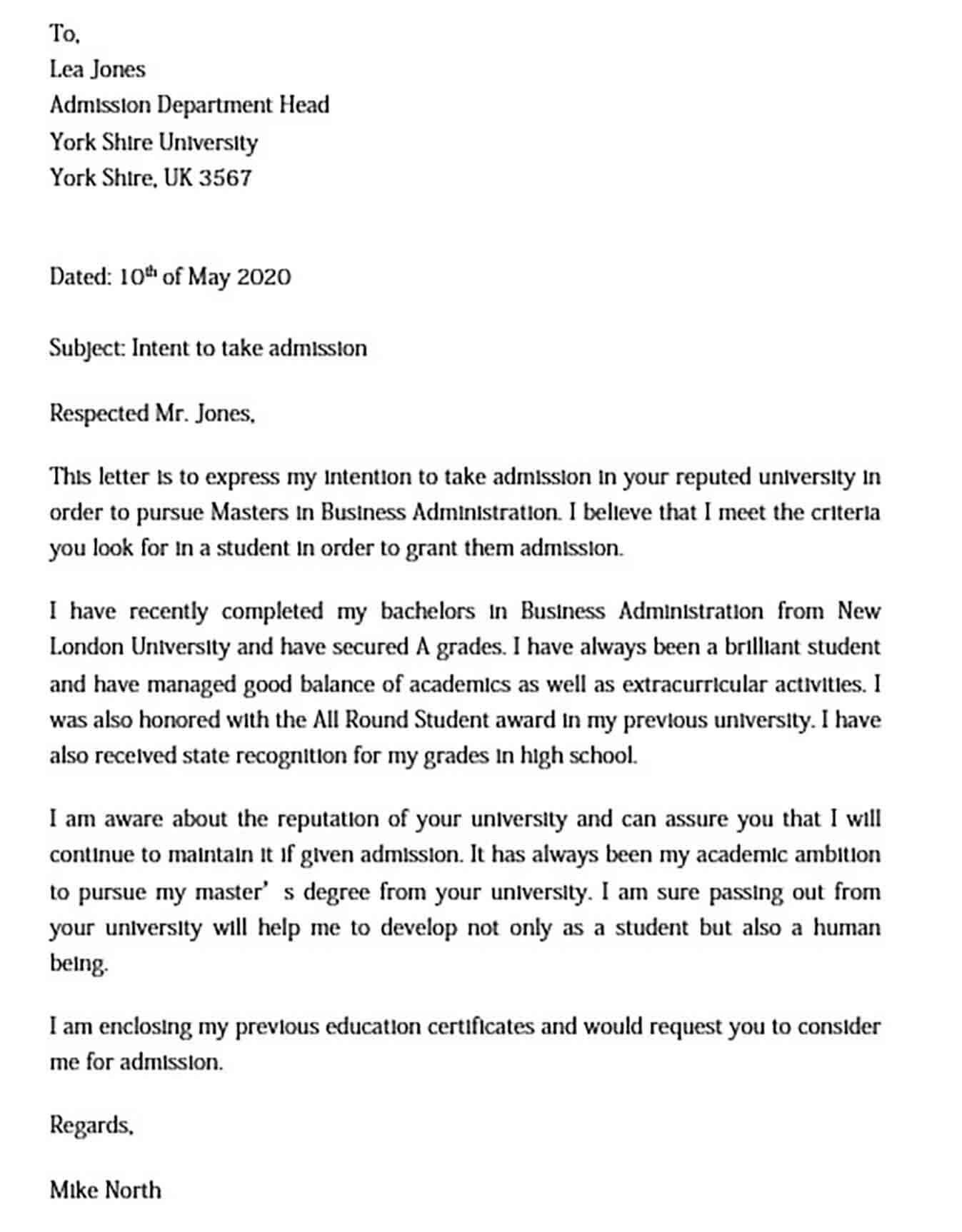 30 Graduate Letter Of Intent Sample Template Library In 2021 School Lettering Letter Of Intent Lettering
