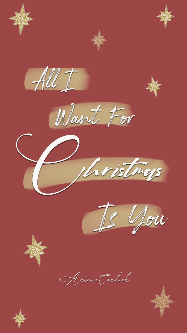 All I Want For Christmas Is You Christmas Wallpaper Christmas Wallpaper Pastel Iphone Wallpaper Christmas Wallpaper Free