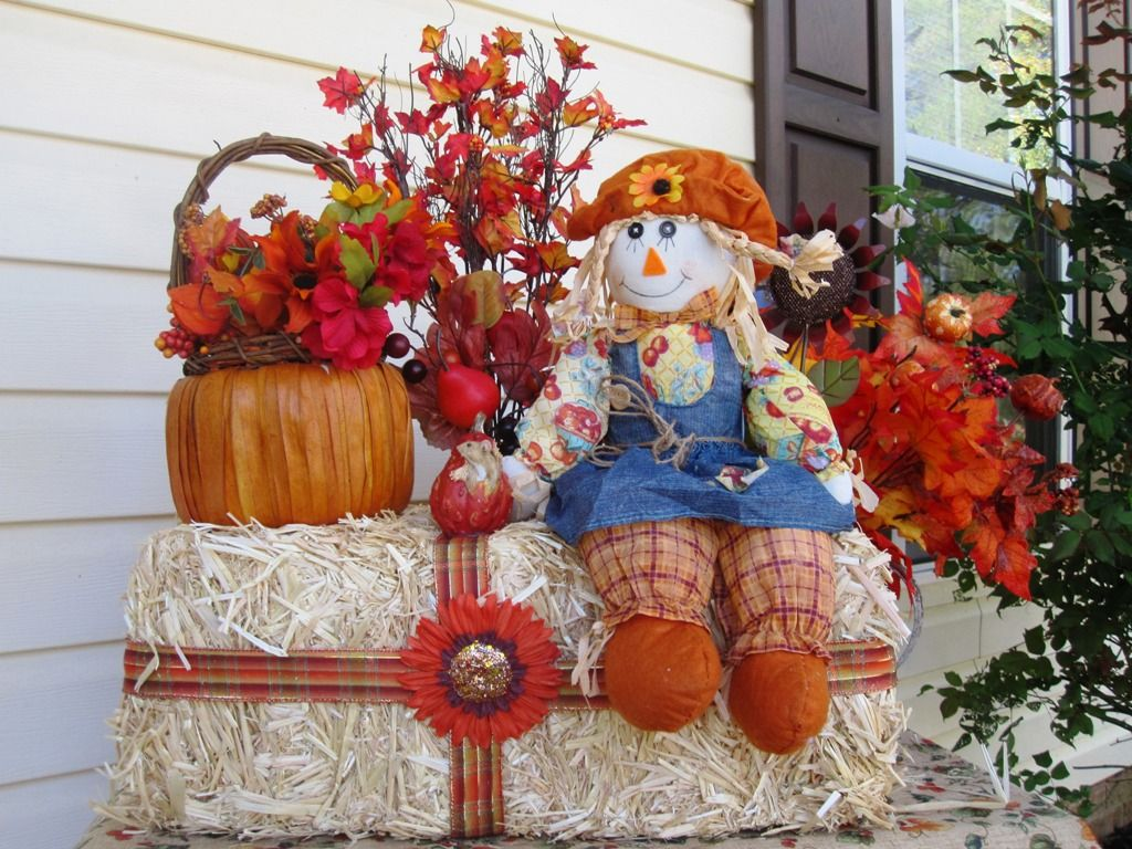 Outdoor Fall Decorations Martha Ideas