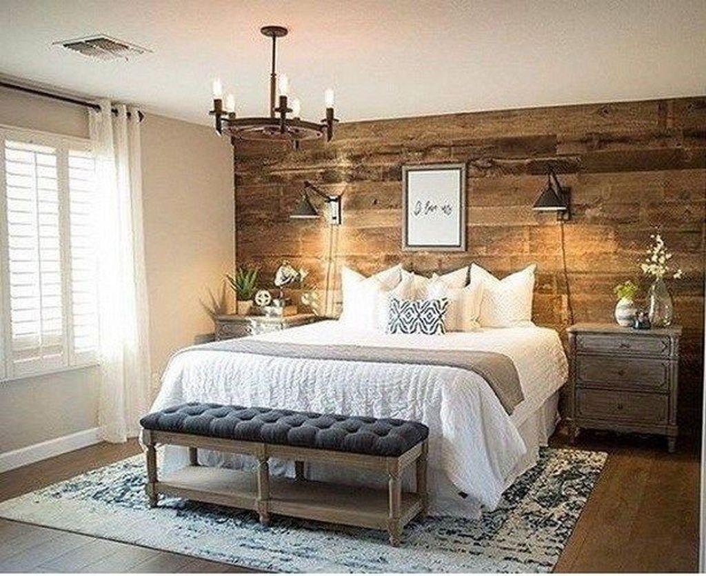 Stylish Master Bedroom Design Ideas Budget 12 Farmhouse Style Master Bedroom Rustic Master Bedroom Master Bedrooms Decor