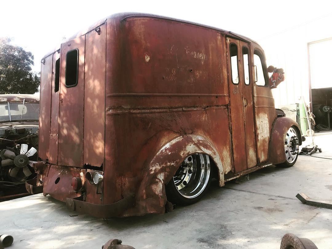 Coe Trucks Cabover Coetrucks On Instagram 1949 Divco Milk Trucks Vintage Trucks Step Van
