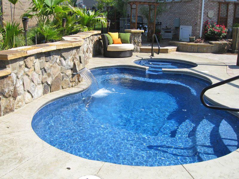 Malibu Freeform Inground Fiberglass Pool 3 | Fiberglass ...