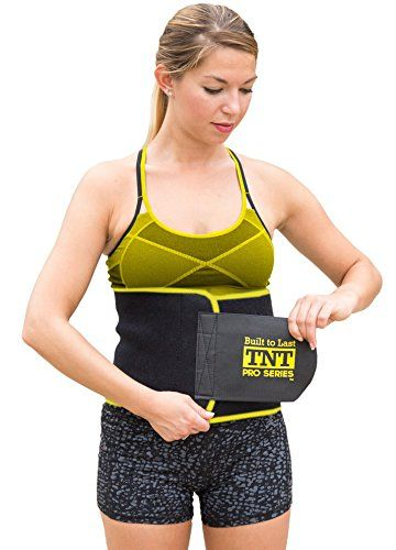 6debe977fb TNT Pro Series Waist Trimmer Weight Loss Ab Belt - Premium Stomach Wrap and Waist  Trainer
