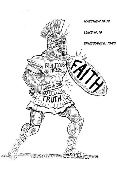 Put on the armor daily! Ephesians 6 | Theocratic | Pinterest ...