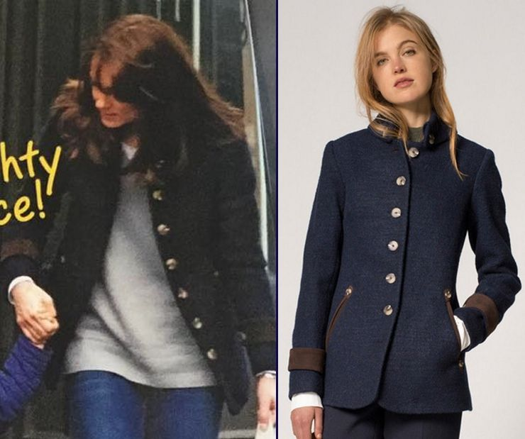 d936fd76d26 Kate Woman's Day Australia Katherine Hooker Hendre Jacket Comparison Side  by Side