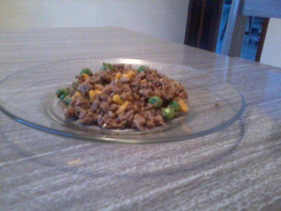 Refogado de soja com Grãos | Receita