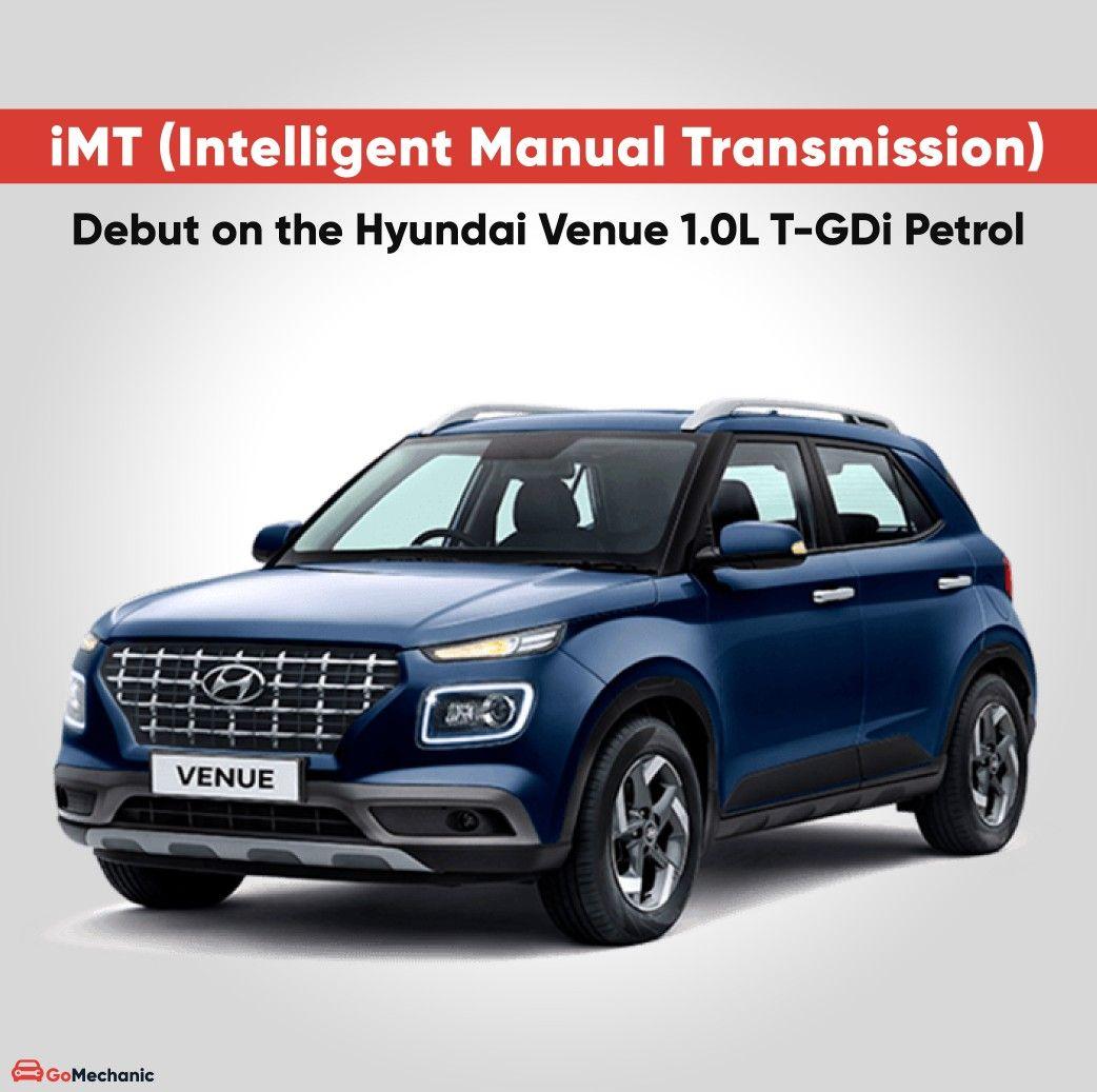 Hyundai To Introduce New Venue Turbo With Imt Technology Hyundai New Hyundai Manual Transmission