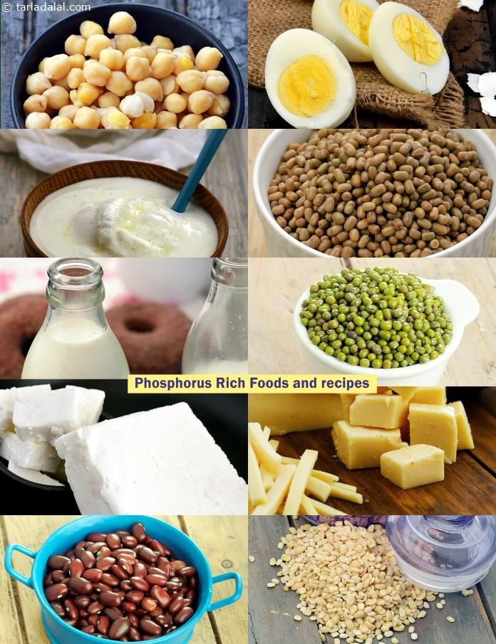 Phosphorus High Recipes, Veg Phosphorus Rich Foods List in