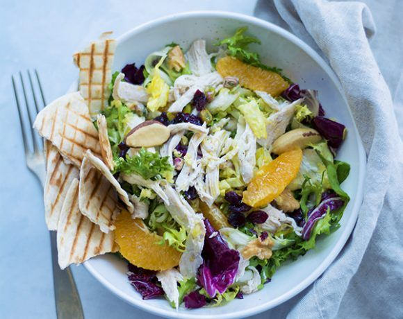 Photo of Chicken and orange ginger salad