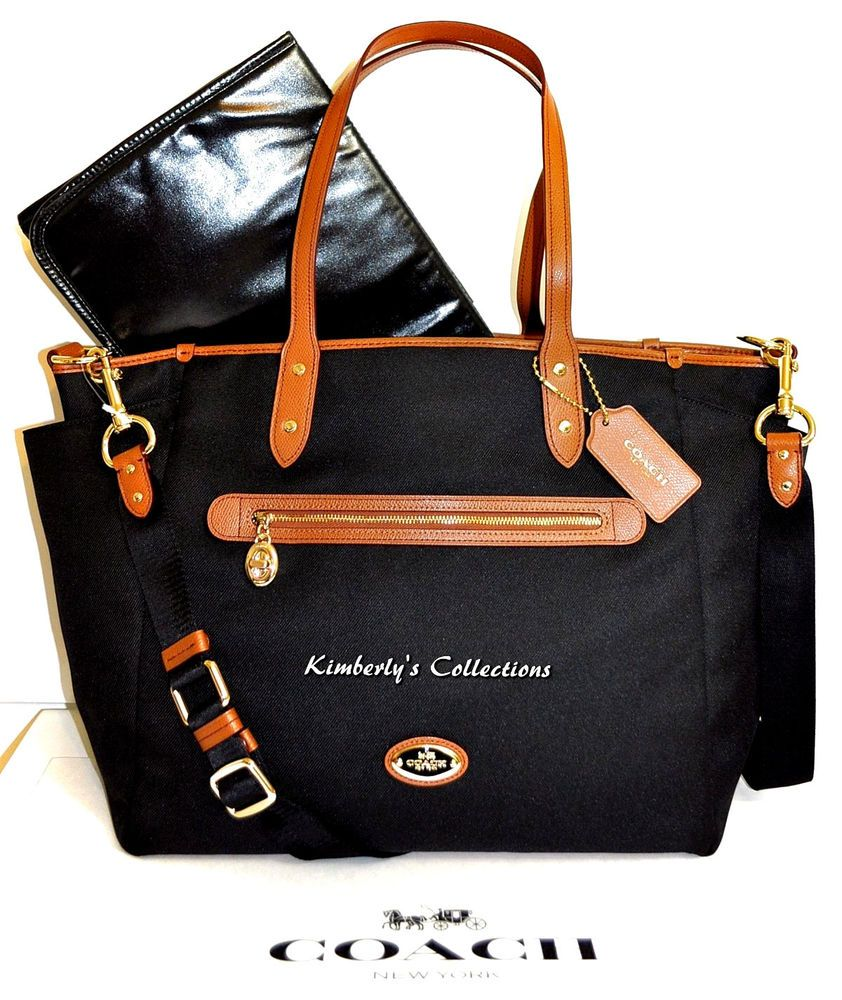 66364e68a161 COACH Baby Shower Diaper Bag Laptop Or Weekender Travel Tote NWT  889532335930