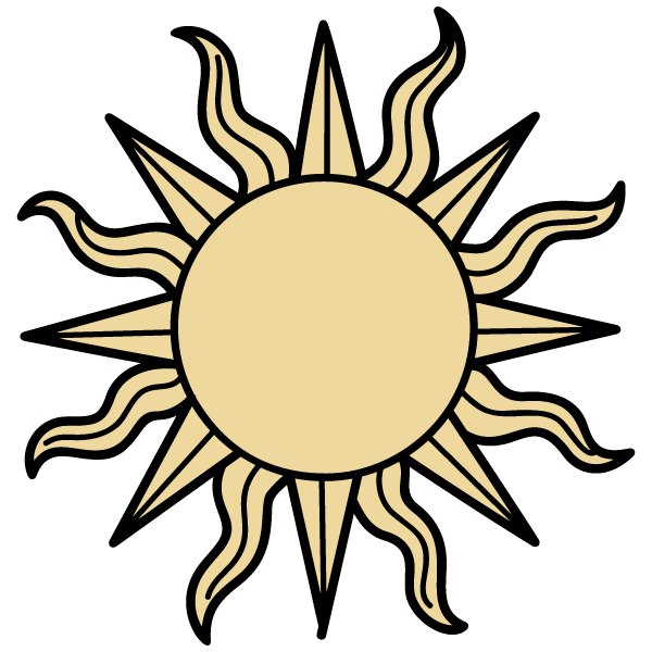 sun vector illustrator clip art rh pinterest com Happy Face Sun Sun Clip Art