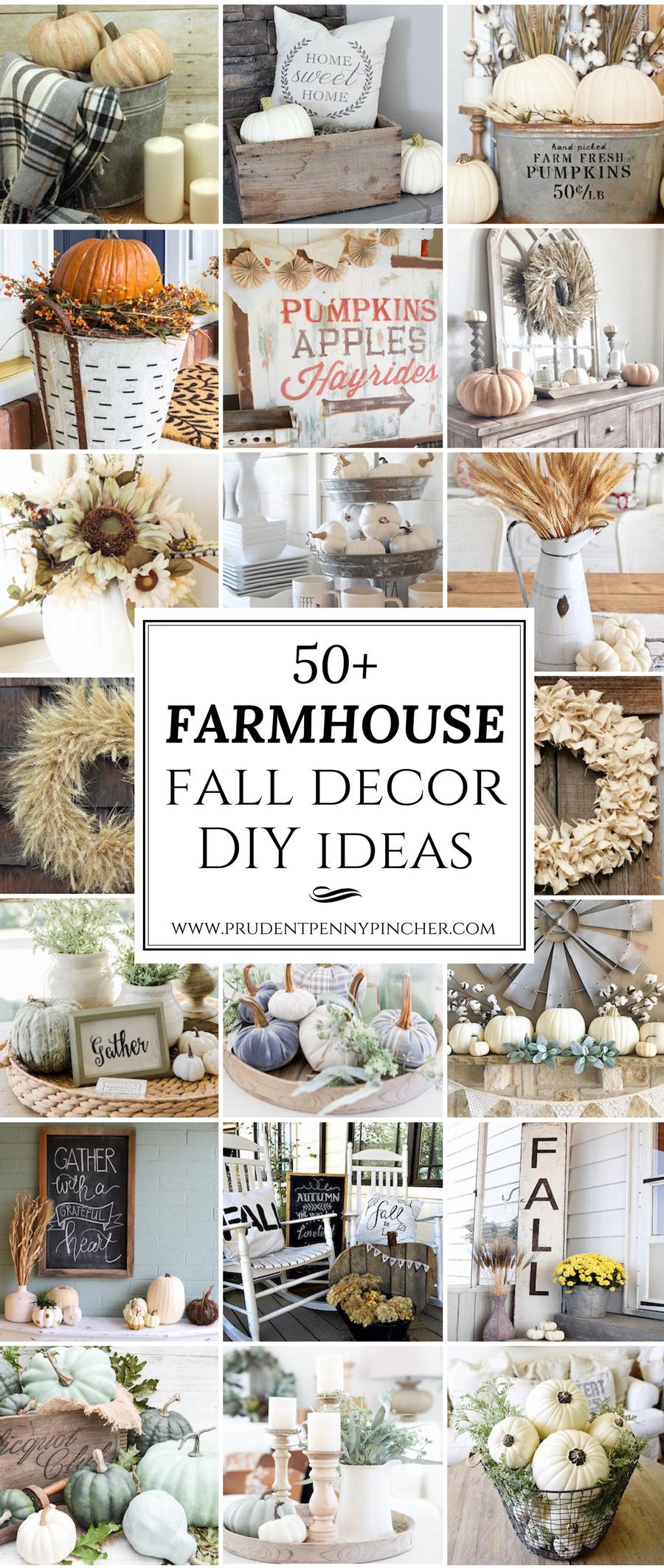 65 Farmhouse Fall Decor Ideas Farmhouse Fall Decor Fall Decor Diy Fall Decorations Porch