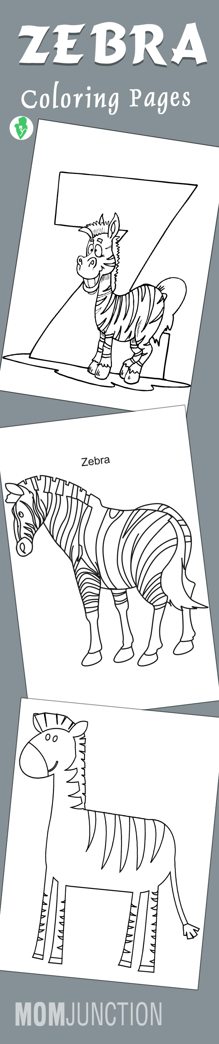 Top 20 Free Printable Zebra Coloring Pages Online | Free printable