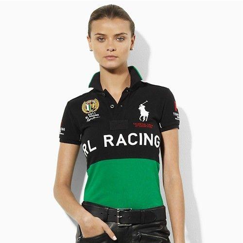 7b0281d94b50 Polo Ralph Lauren Womens RL RacIng Polo