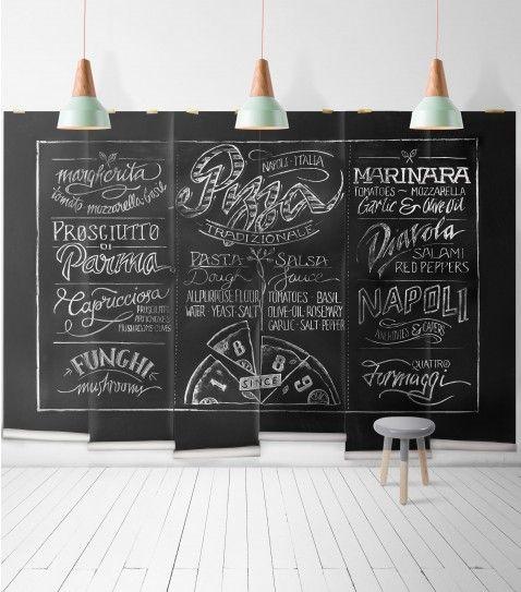 Chalkboard Pizza