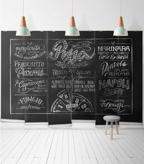 Home Design Ideas Blackboard: Chalkboard Beer Wall Mural • Cool Man Cave Design