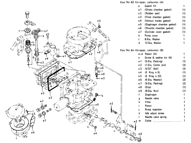 hitachi nissan carburetor  8