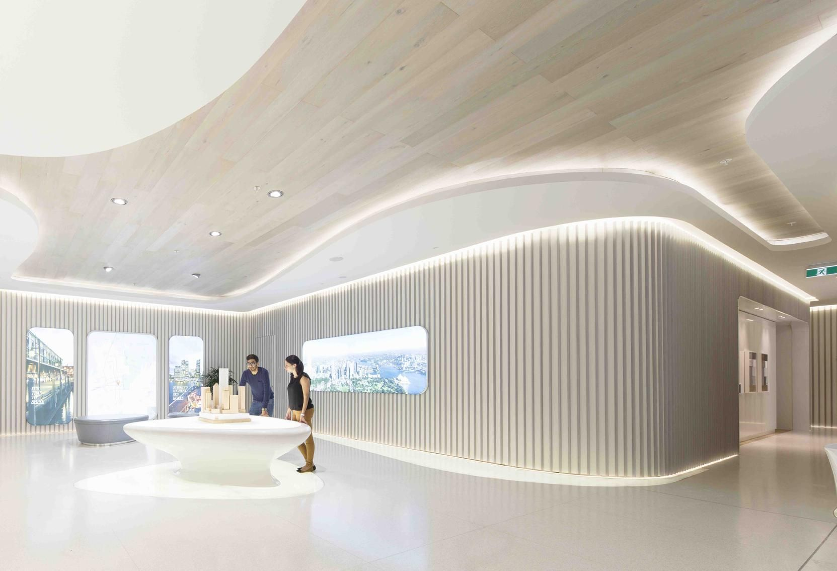 Interior design for an office space in Sydney, Australia by Lava