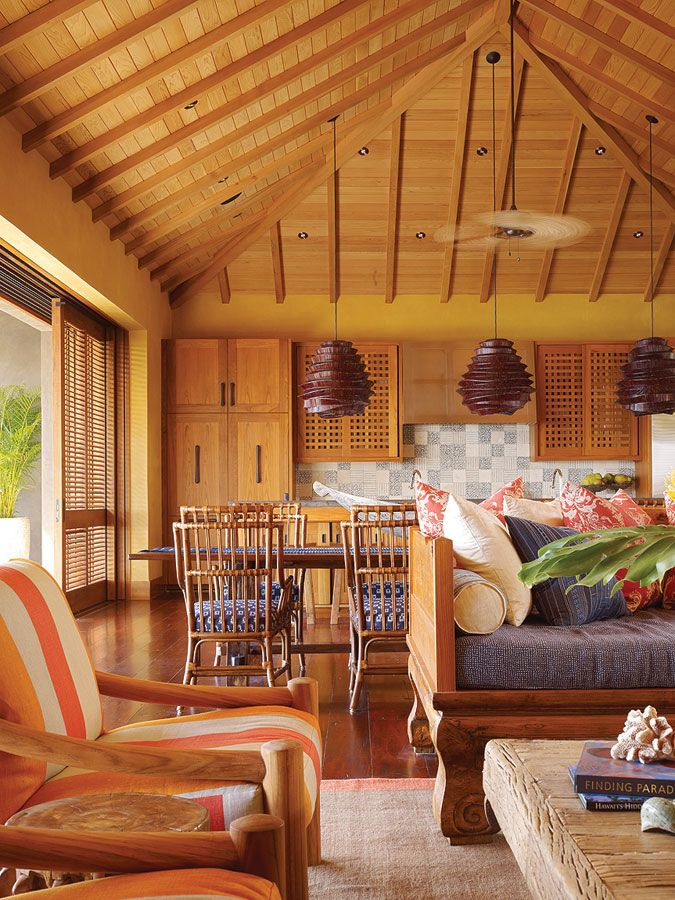 Ceiling inspiration Island Retreat | Work | Philpotts ...