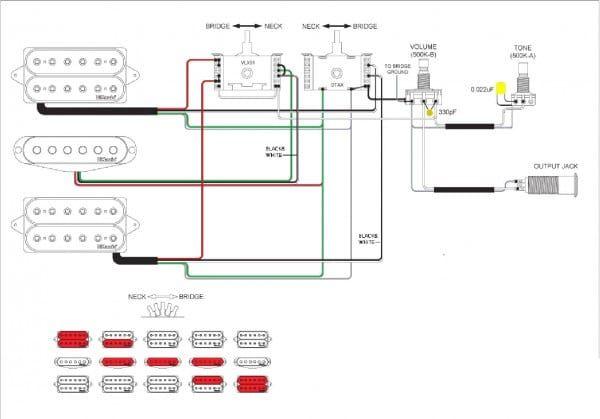 ibanez rg wiring diagram 5 way  ibanez ibanez electric
