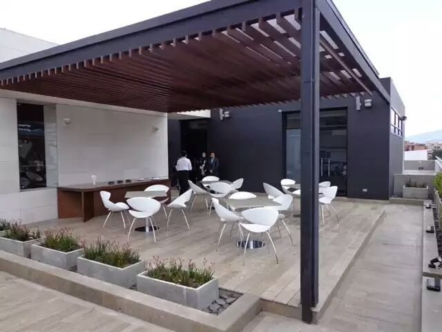 resultado de imagen de pergolas de acero pergolas pinterest acapulco and pergolas. Black Bedroom Furniture Sets. Home Design Ideas