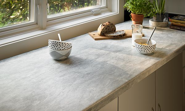 Formica Laminate Hpl 6317 Weathered Cement Stratifie Haute