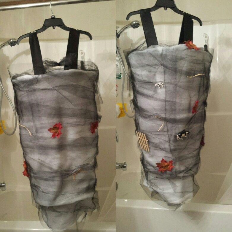 Inexpensive Wizard of Oz tornado costume | Udderly Crafty ...