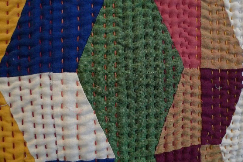 Big stitch hand quilting!   Quilting Your Quilts   Pinterest ... : what is quilting - Adamdwight.com
