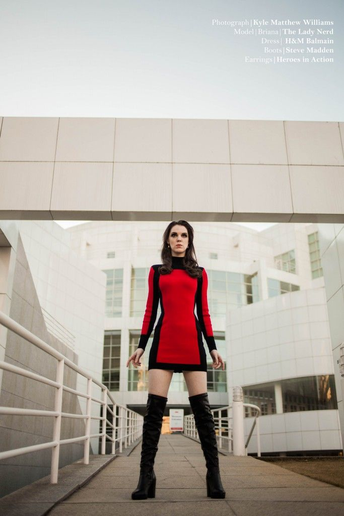 Outfit of the Week - a modernly-styled Star Trek dress. Great for a  fashionable date or with tights, great for the office! | My Outfits |  Pinterest | Star ...