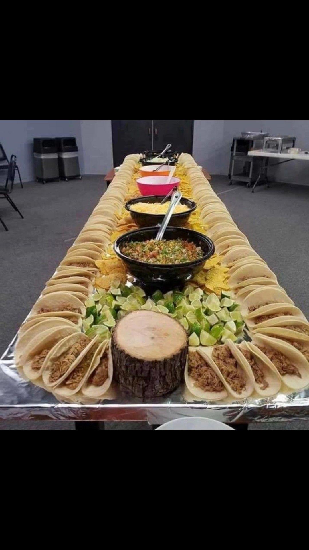 Pin by Hattie Finhadden on mexican ideas Wedding buffet
