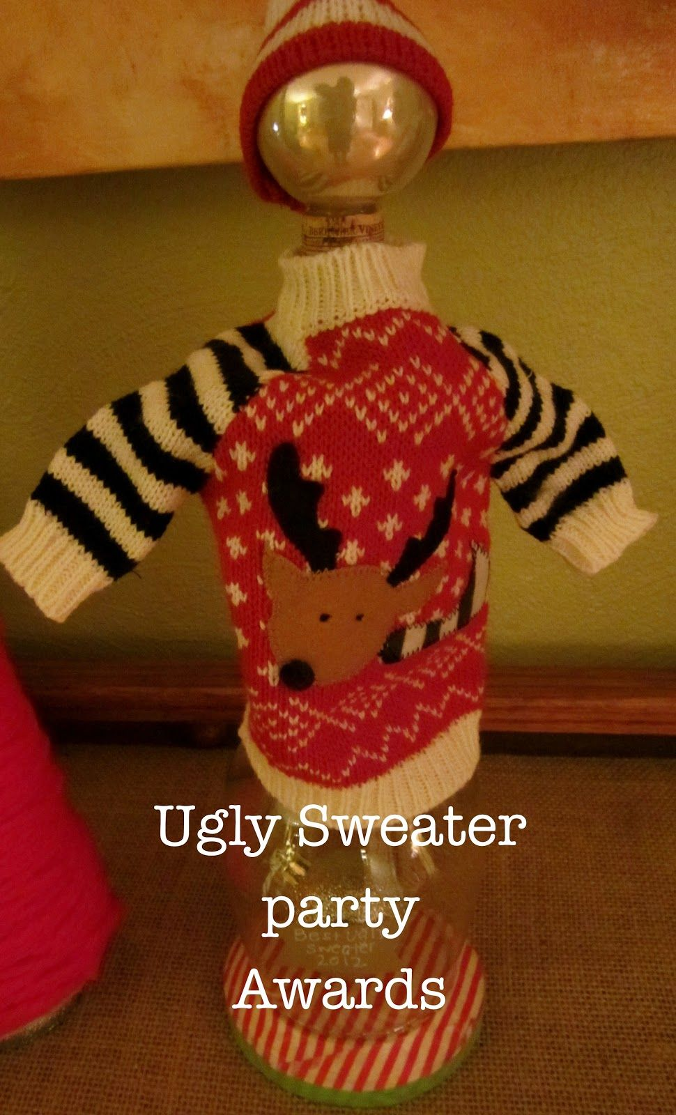 Christmas Party Award Ideas Part - 18: Pumpkin Loves: Ugly Sweater Party: The Awards
