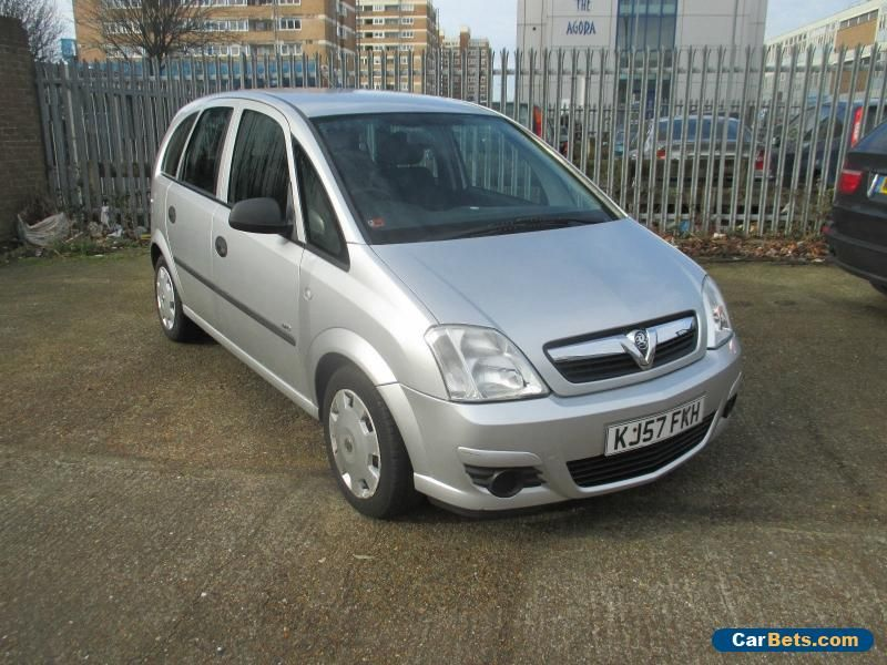 2007 VAUXHALL MERIVA LIFE TWINPORT SILVER SPARES OR REPAIRS #vauxhall #merivalifetwinport #forsale #unitedkingdom