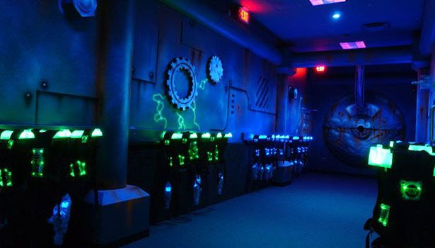 5 000 Sf Two Story Laser Tag Arena Www Alleycatsbowl Family Fun Pinterest