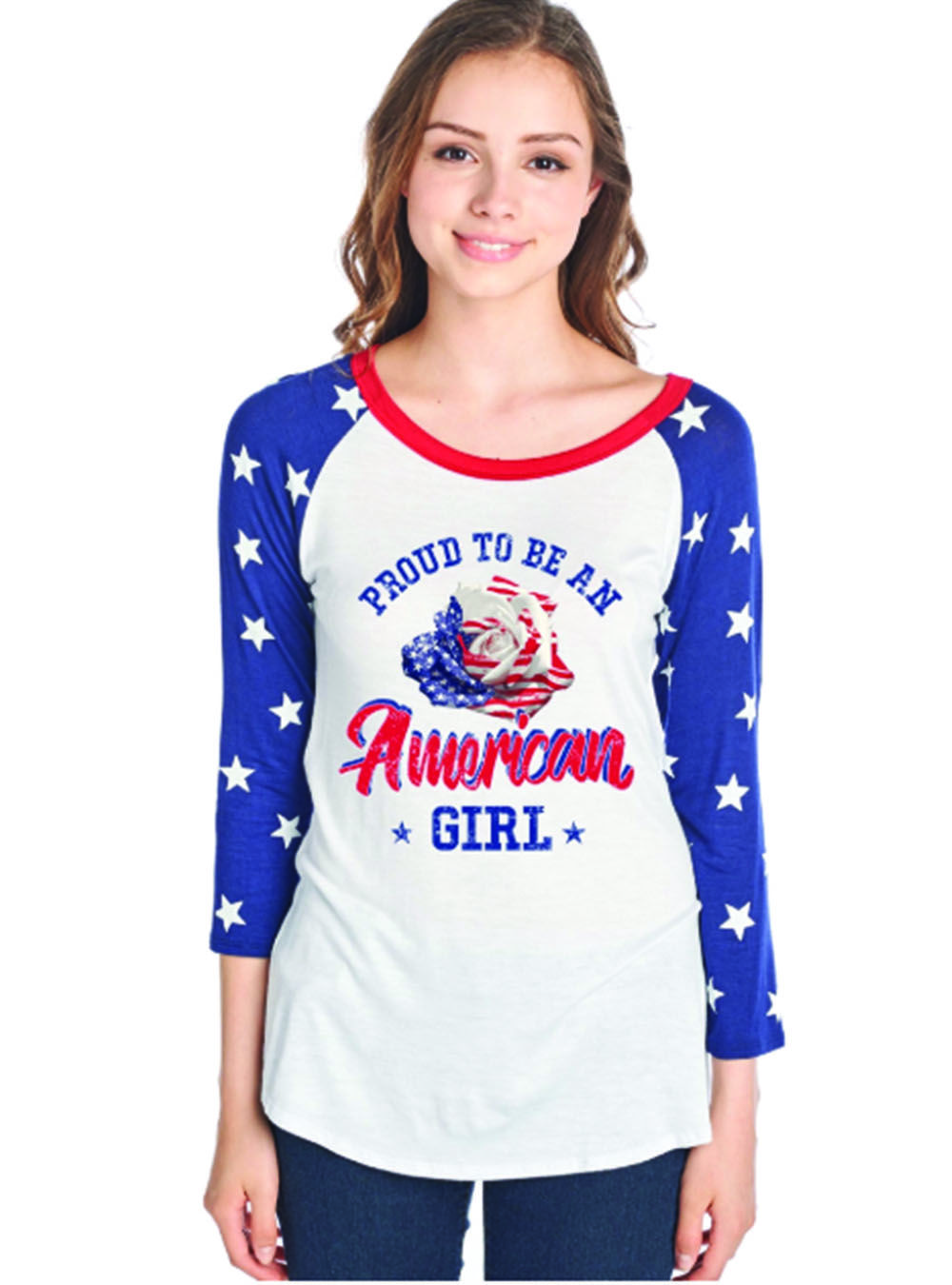 Baseball Girl Shirt Baseball Embroidered Tee