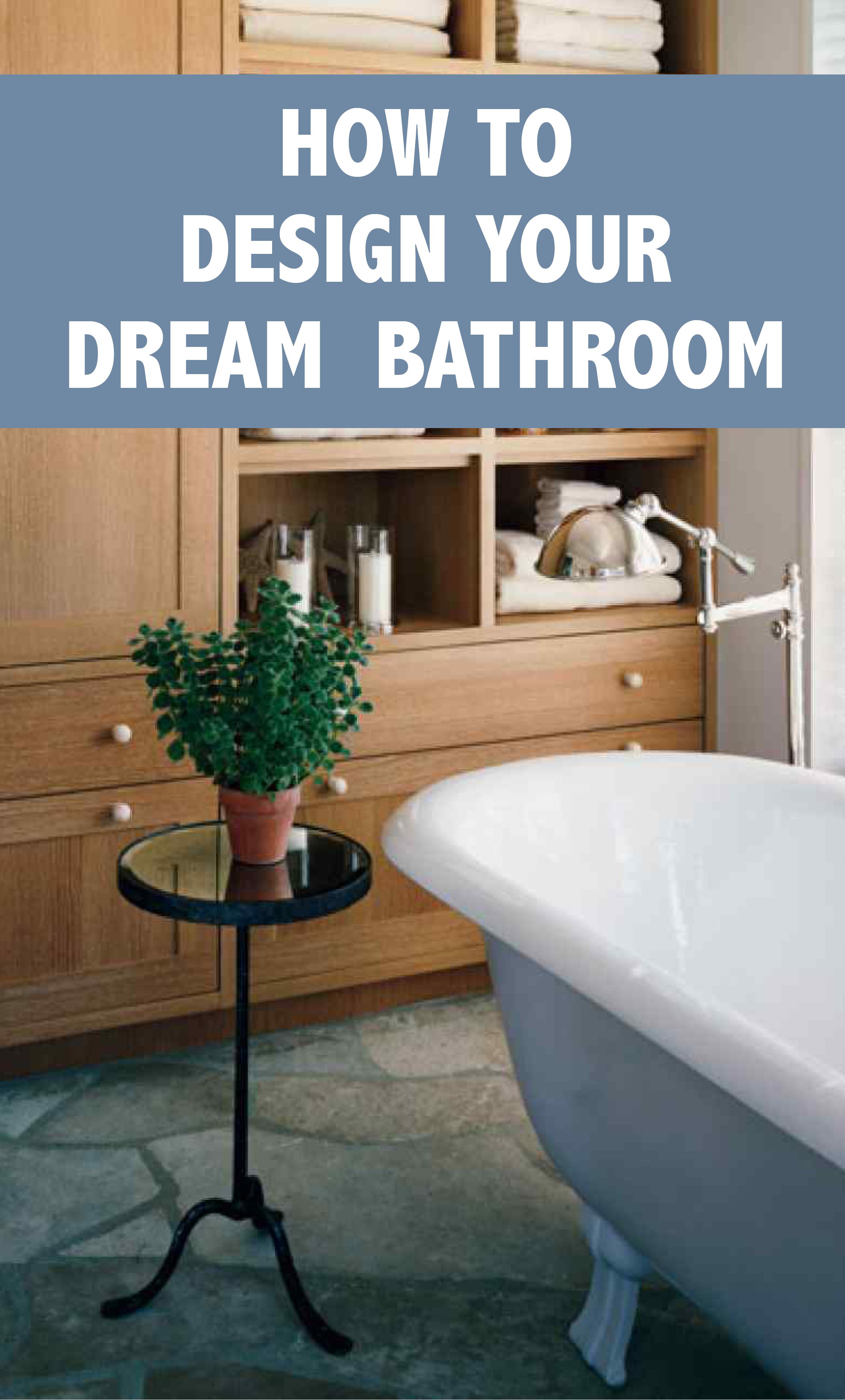 Get an End Table for the Bathtub | Martha Stewart Living - Keep your ...
