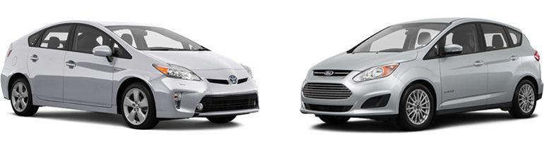Toyota Prius V 2015 Vs Ford C Max 2015 Safety Technology