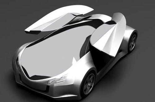 Phantom concept car Aerodynamic Futurism Future Auto  Cars