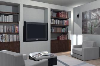 kuhle dekoration tv natursteinwand, come realizzare un porta tv in cartongesso | r- fai da te, Innenarchitektur