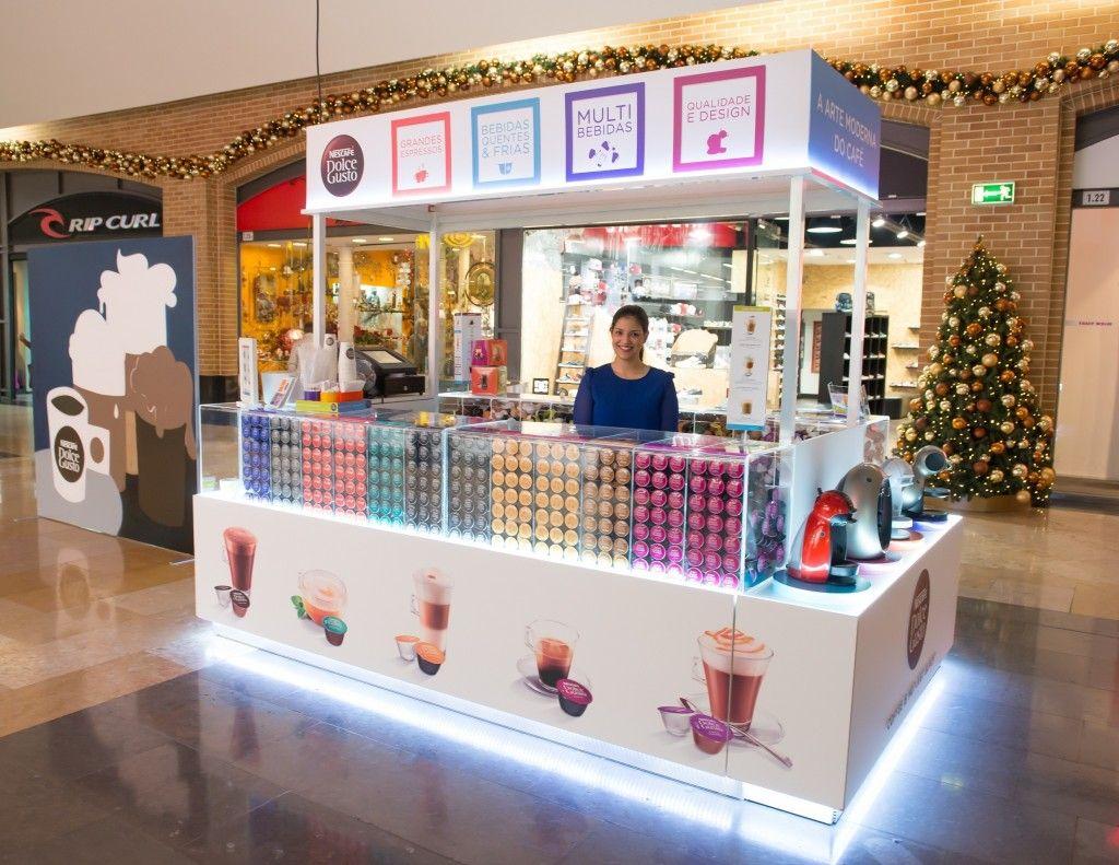 Nescafé Leva Dolce Gusto Para Novas Pop Up Stores Em Lisboa E Porto Design De Cafeteria Projeto Do Quiosque Dolce Gusto
