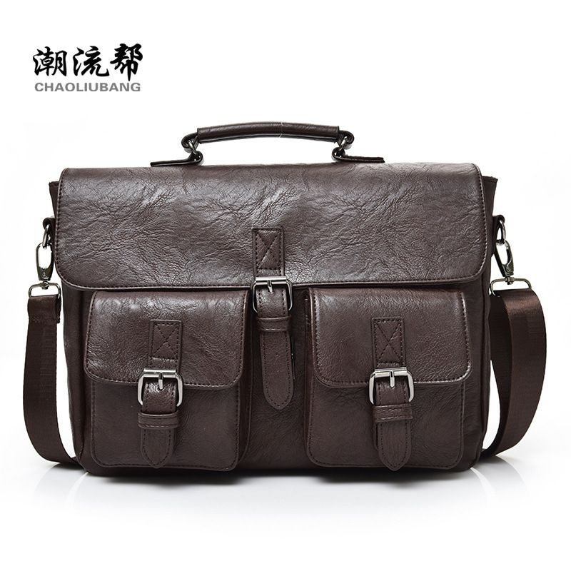 71cf14a7aaf ... Bag · Man Cross Body Bag Compare Prices New Men Business Bags Men Soft  Briefcase . Famous Brand Kangaroo Casual Mens leather messenger ...