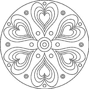 entspannung mandalas - kostenlose vorlagen zum ausdrucken   lotusblüte zeichnungen, abc