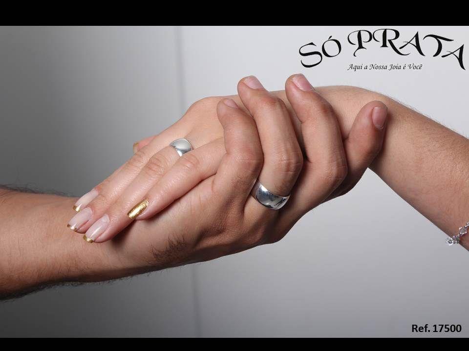 Aliança de Prata de Compromisso http   www.soprata.com.br par-de-alianca -de-de-prata-compromisso---17500-7905.aspx p   Alianças   Pinterest 35e412bdb8