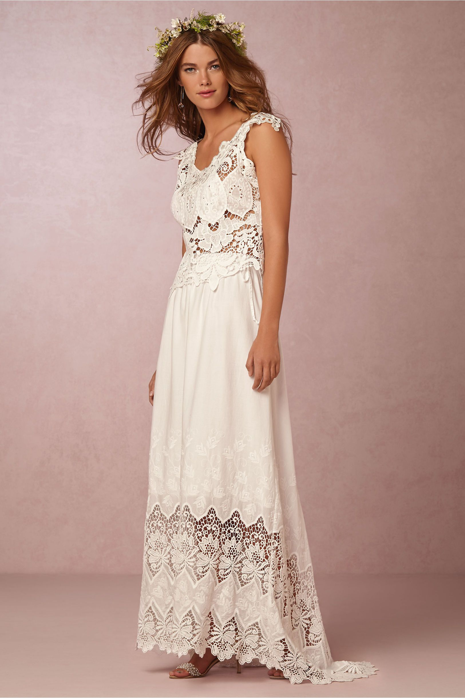 romantic, bohemian bridal separates for the free spirited bride ...