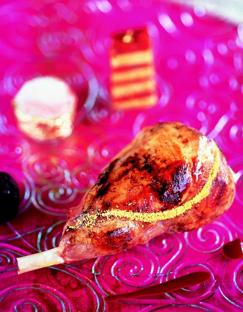 Délice De Lapin Doré Au Millefeuille De Chorizo Et Foie Gras - Comment cuisiner un lapin