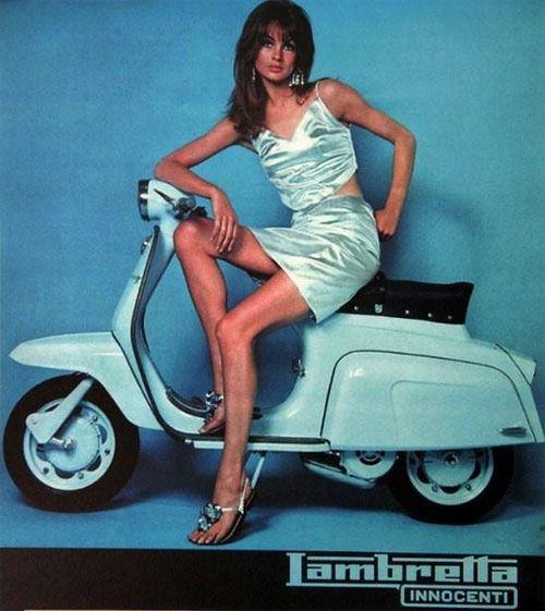 1960s Italy: Lambretta Advertising Campaign