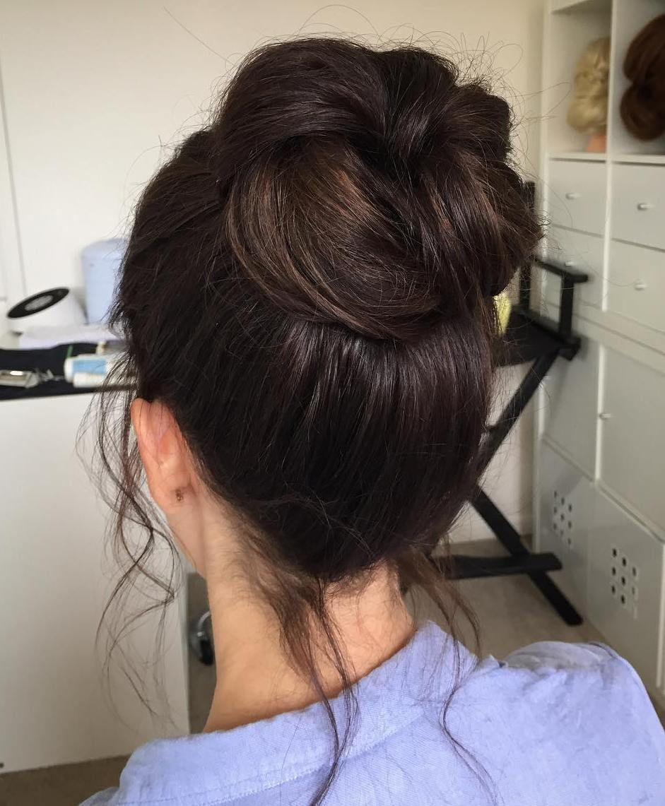 40 Messy Bun Hairstyles to Refresh Your Casual Look