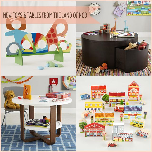 The Land of Nod toys and tables A Girl Named PJ Modern